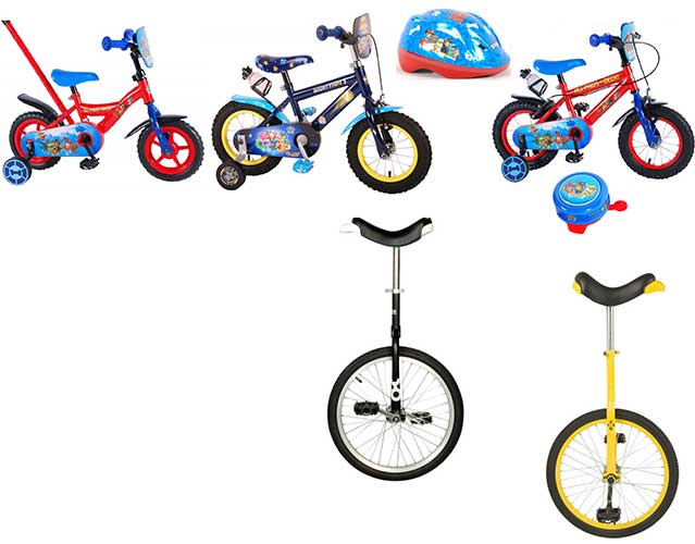 Cykler til hele familien